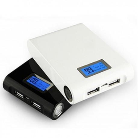 Bateria Power Bank 12000mAh LCD