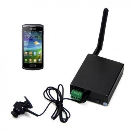 Zestaw egzaminacyjny 3G z mini kamerą o globalnym zasięgu