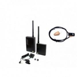 Mikrosłuchawka bluetooth z mini kamerą w guziku