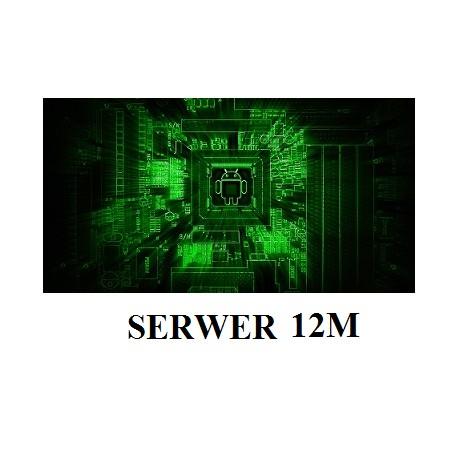 Podsłuch komórki ANDROID SERWER 12M