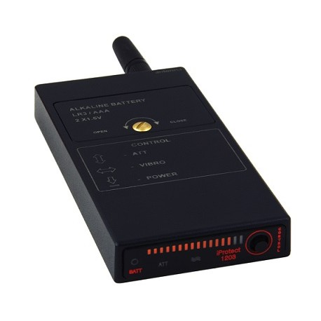 Wykrywacz podsłuchów radiowych i cyfrowych iProtect 1203