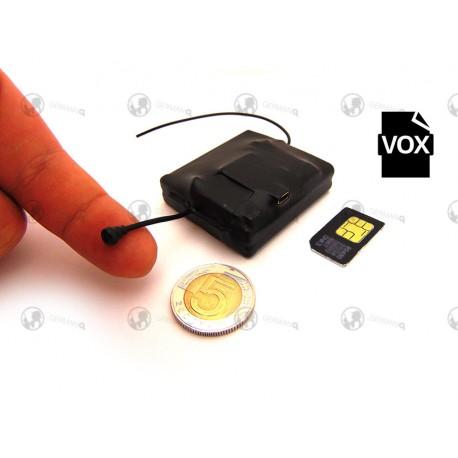 Miniaturowy podsłuch GSM GM-X6L detekcja dźwięku